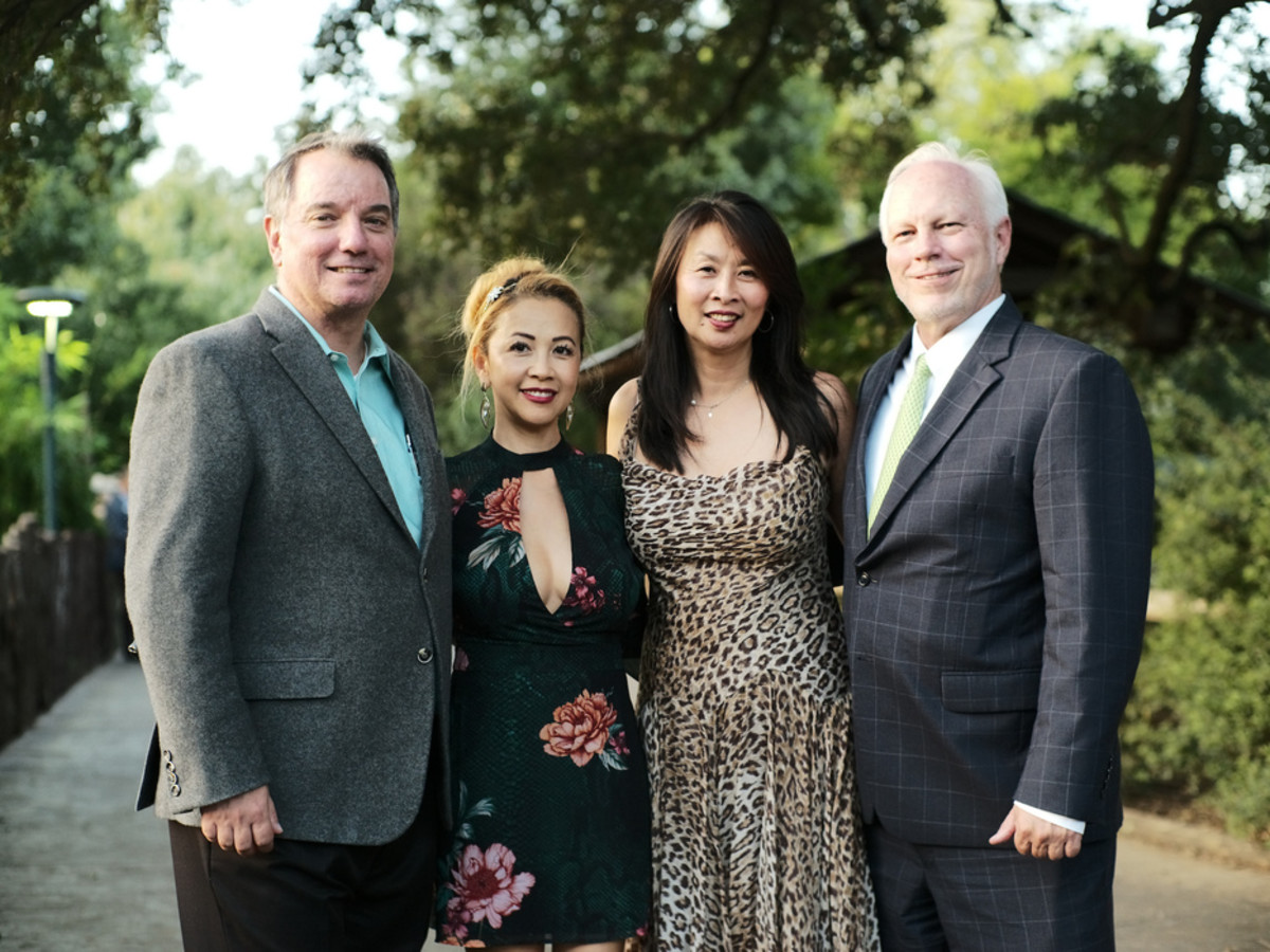 Houston Zoo Conservation Gala 2019 Ron and Demi Rand_ Sue Chin and Lee Ehmke