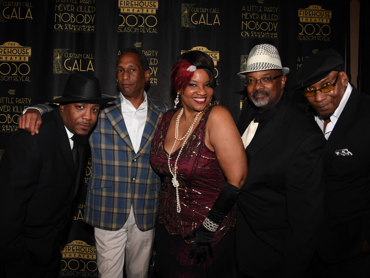 Denise Lee and her band