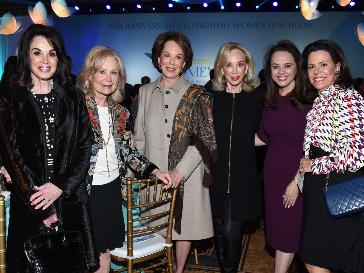 Lana Andrews, Gayle Stoffel, Sue Justice, Anita Arnold, Aileen Pratt, Michal Powell