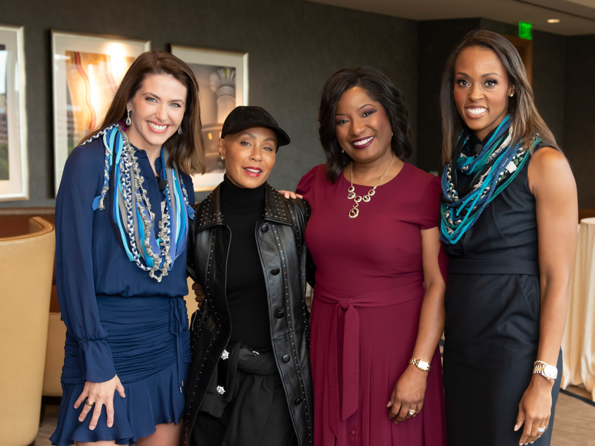 : Shelly Slater, Jada Pinkett Smith, Kim Robinson, Christa Sanford
