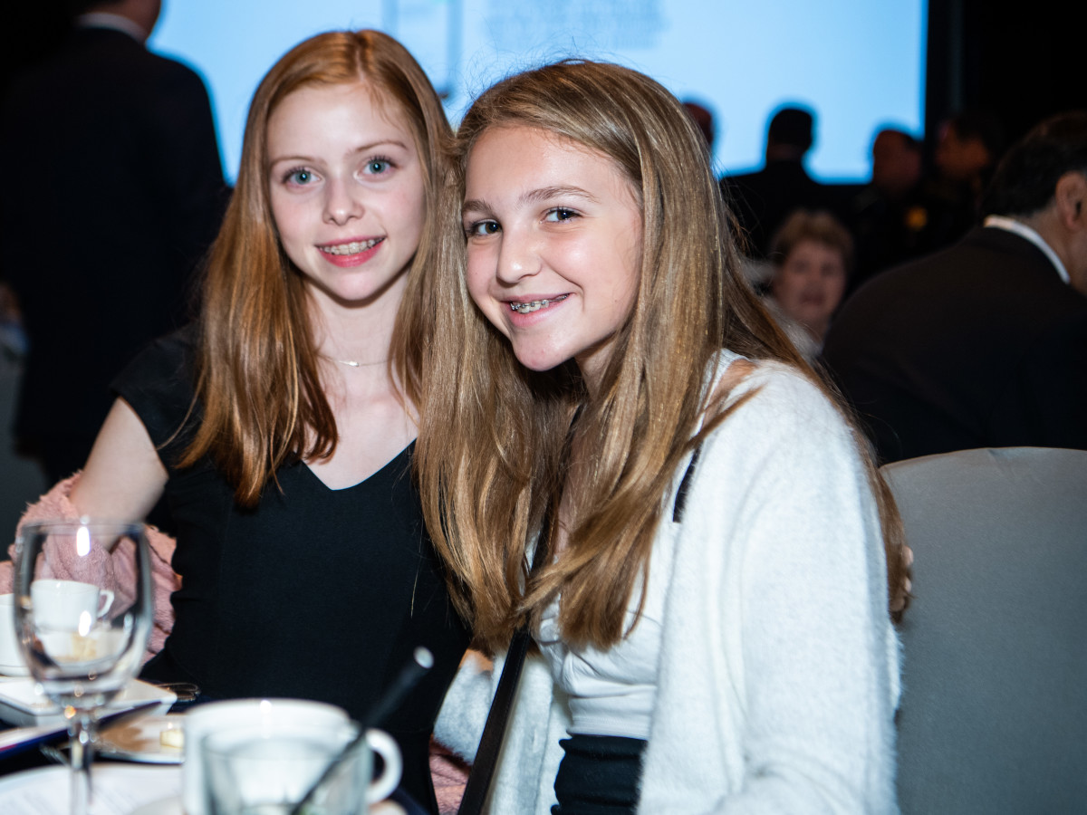 Crime Stoppers Gala 2019 Avery Afseth, Bella Chramosta