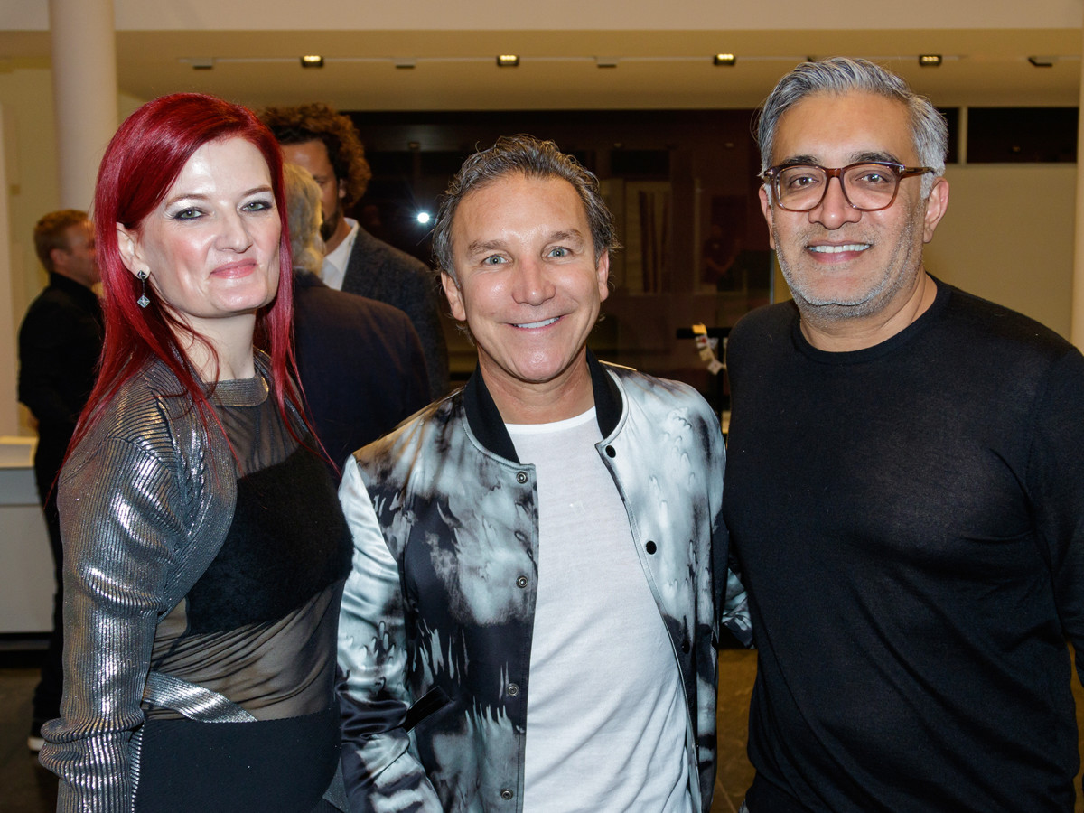 Nicola Jackson, Gonzalo Bueno, Rajan Patel