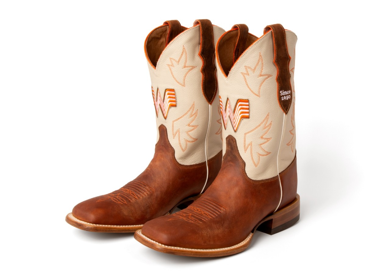 Whataburger boots men's