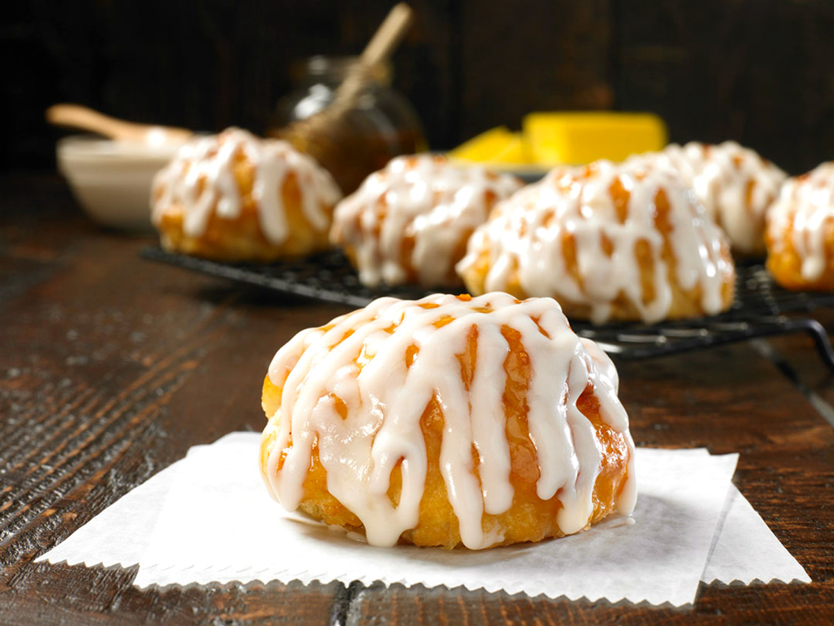 Drive-Thru Gourmet - Church's Frosted Honey Butter Biscuits