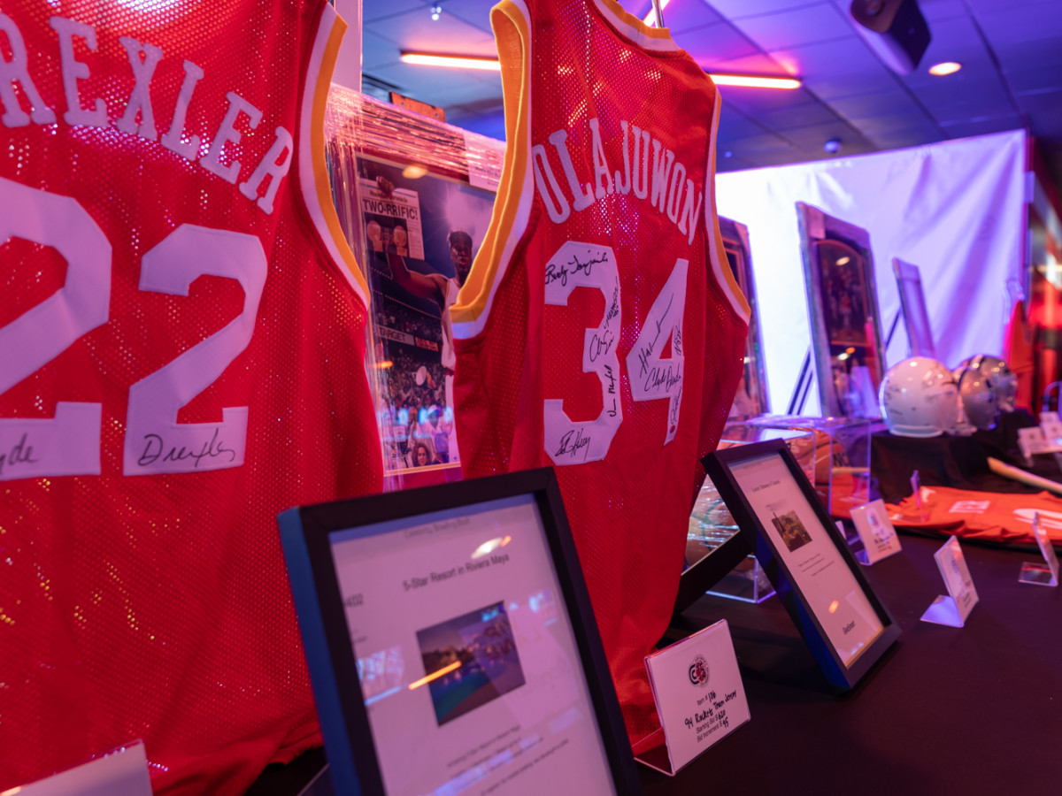 Clint Capela bowling bash 2019 silent auction items