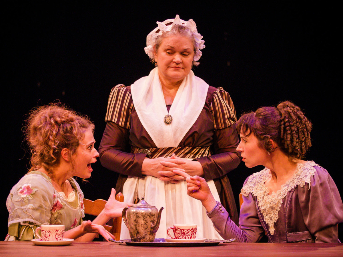 Main Street Theater presents The Wickhams: Christmas at Pemberley