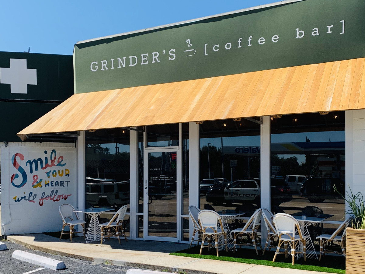 Grinder's Coffee Bar exterior