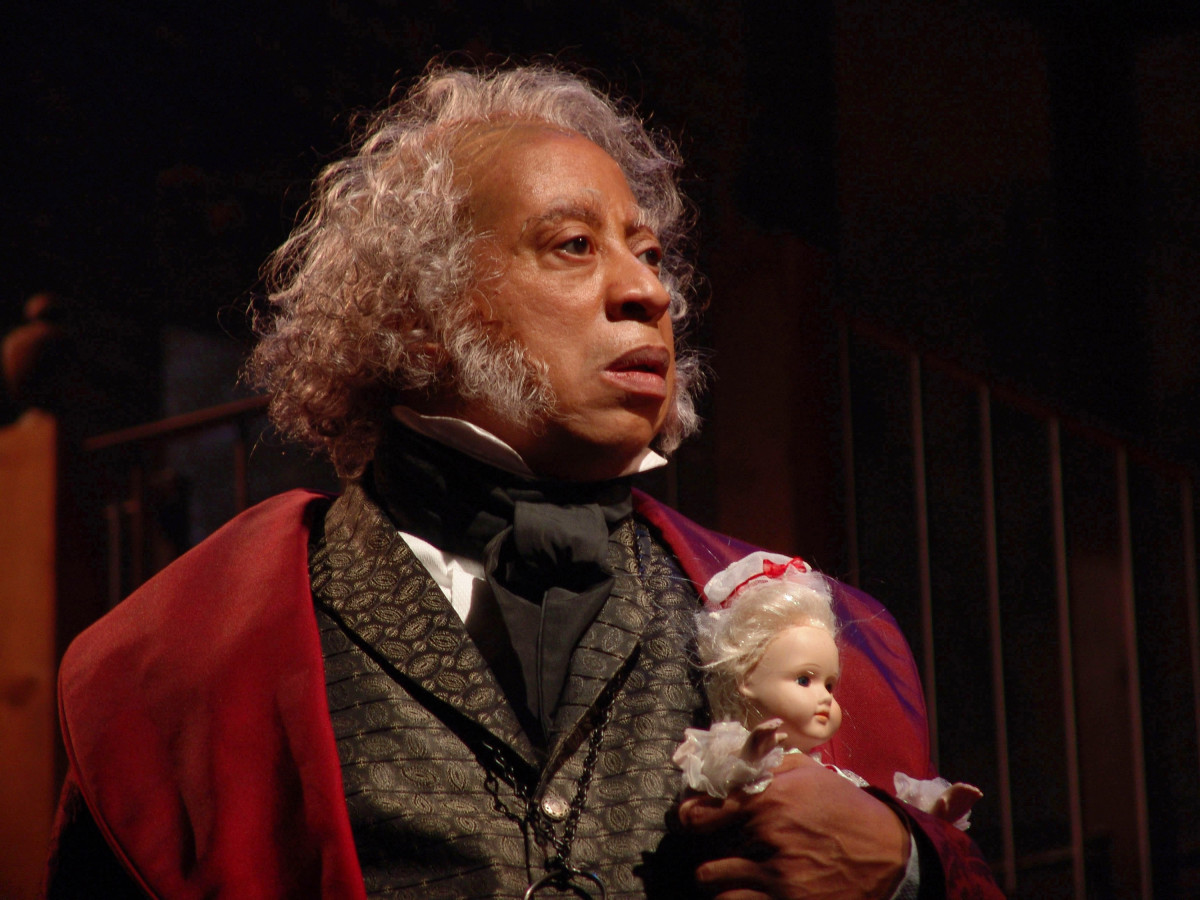 Alley Theatre Christmas Carol: David Rainey