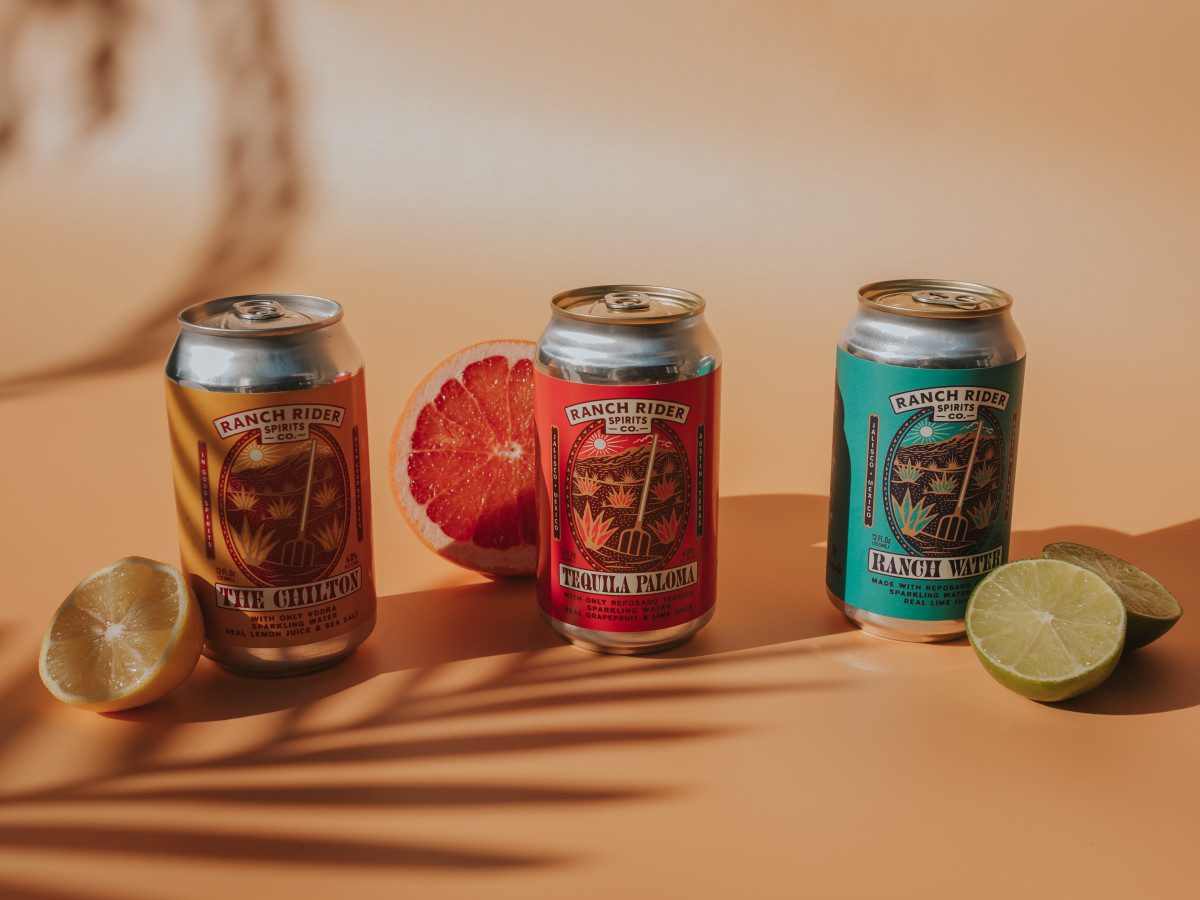 Ranch Rider canned cocktails