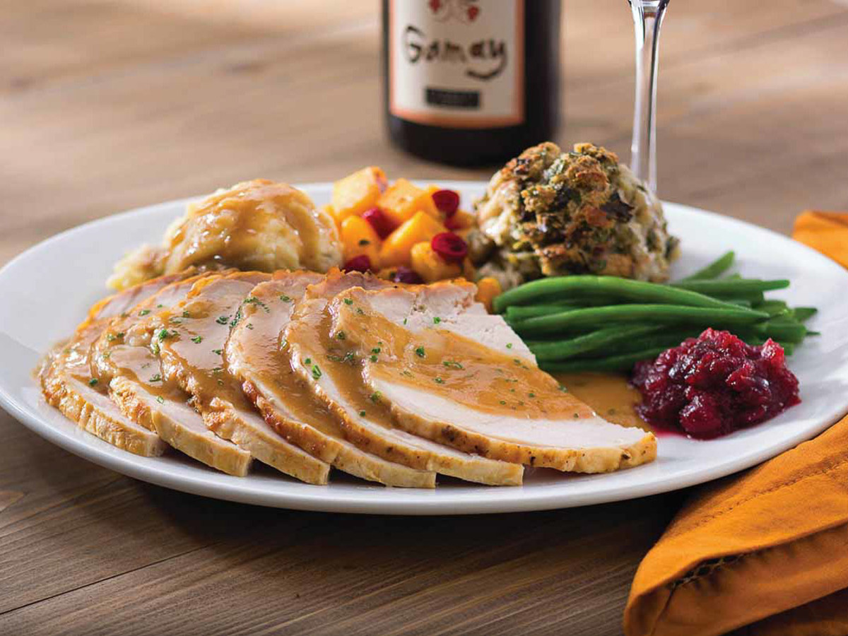 turkey cranberry sauce green beans