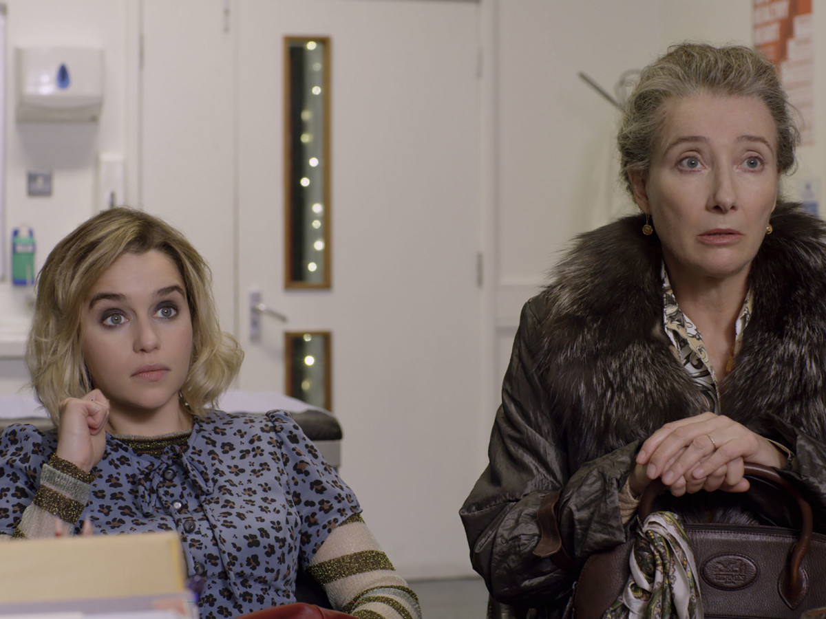 Emilia Clarke and Emma Thompson in Last Christmas