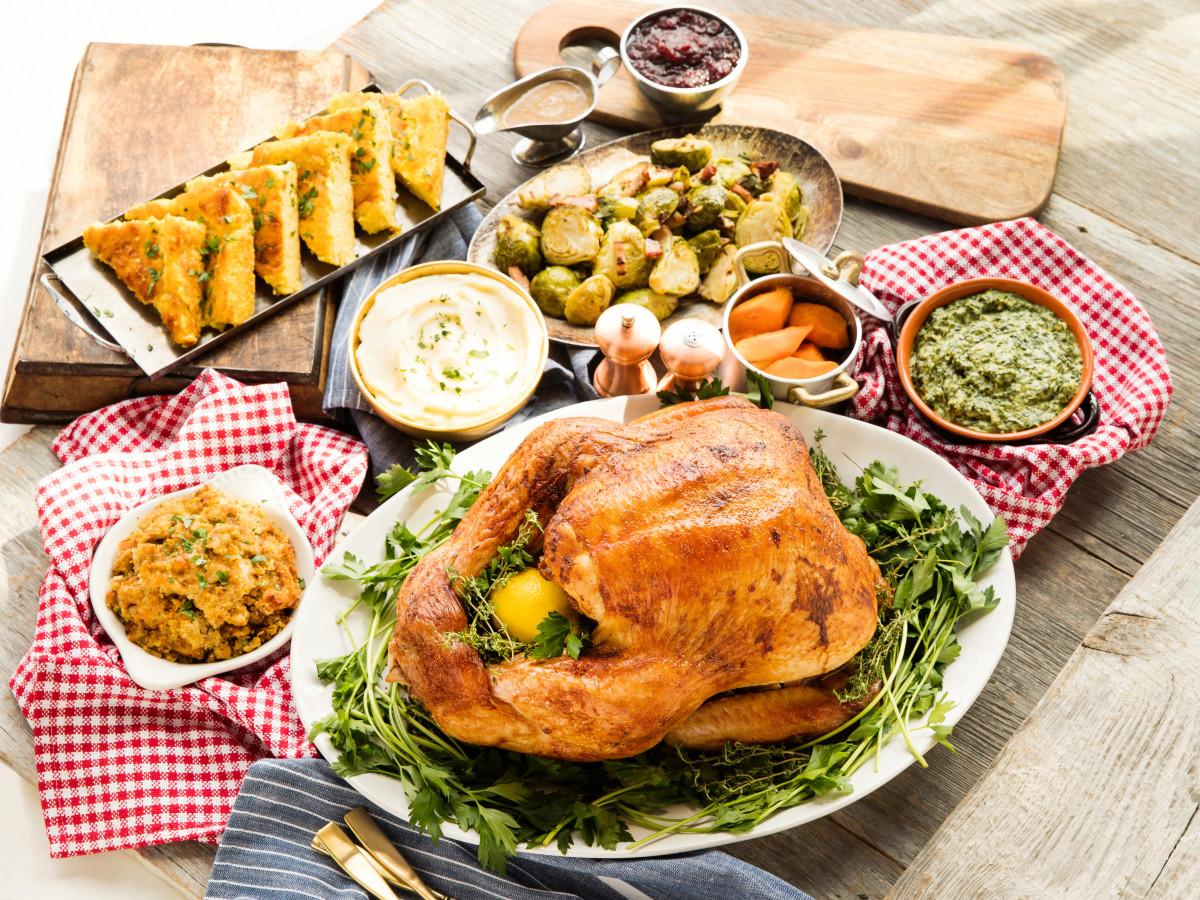 B&B Butchers Thanksgiving meal