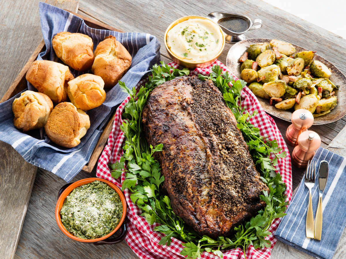 B&B Butchers prime rib meal