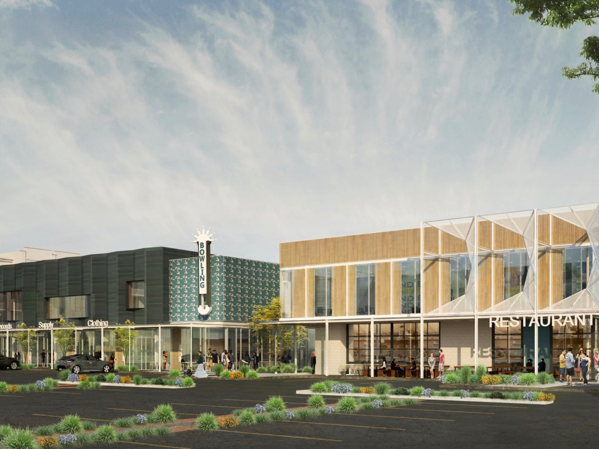 Southside Commons exterior rendering