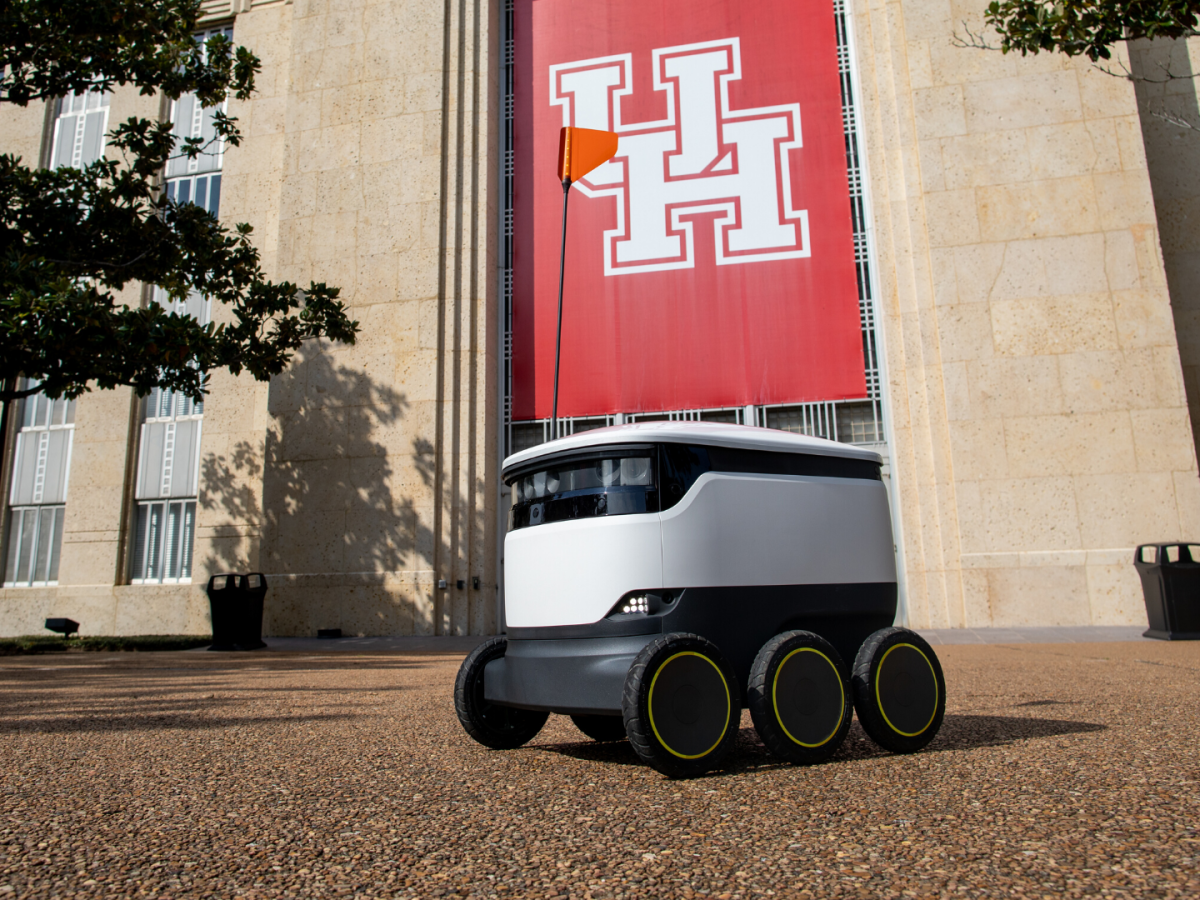 university of houston autonomous delivery robot