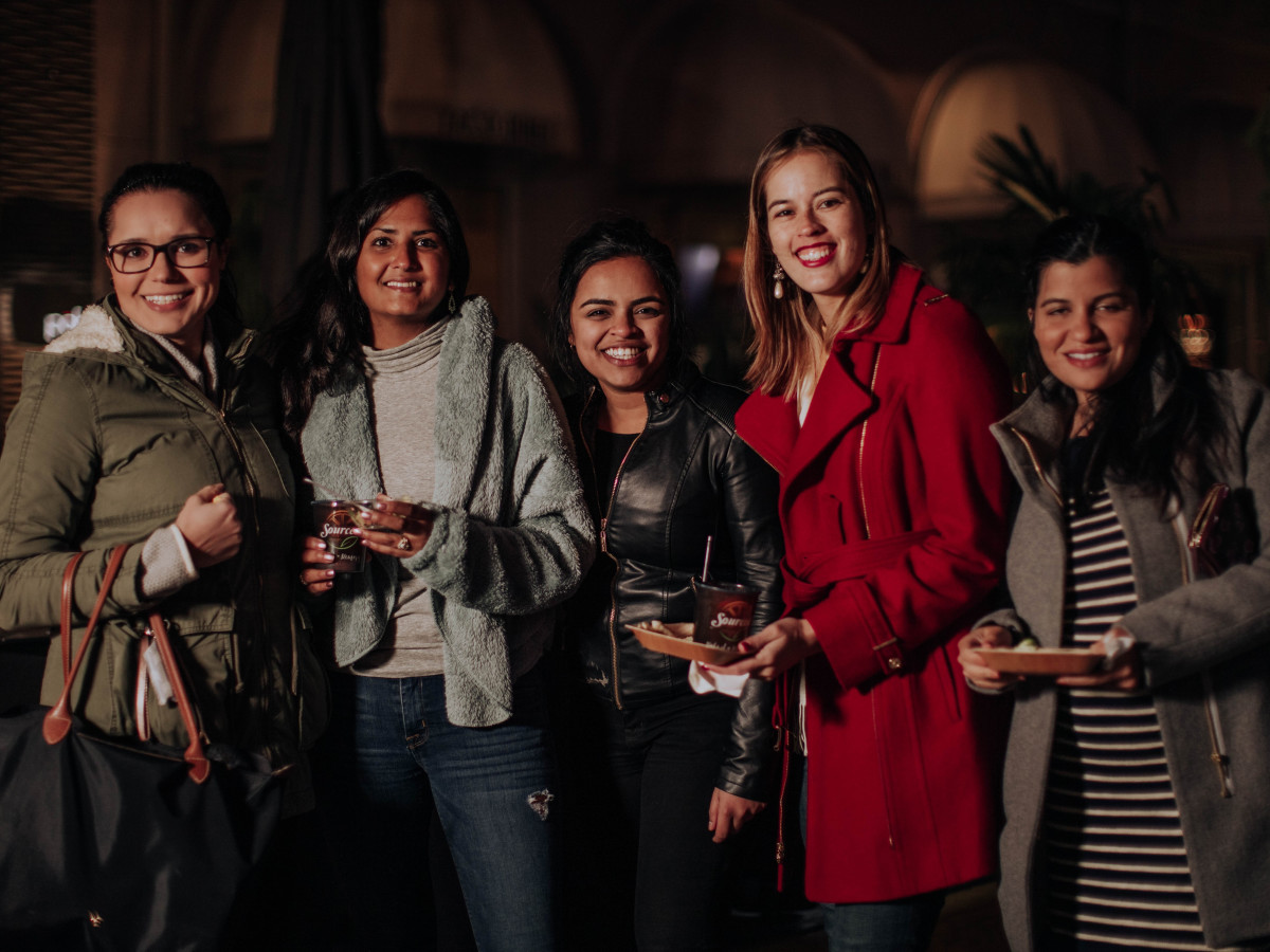 Carolina Carvajal, Shereen Dewmarais, Josephine Thomas, Jessica Dobbs, Rachna Sharma