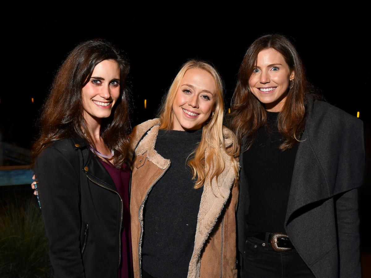 Urban Wild Bridge Bash Lauren Serpan, Chelsea Carroll, and Caroline Dawson