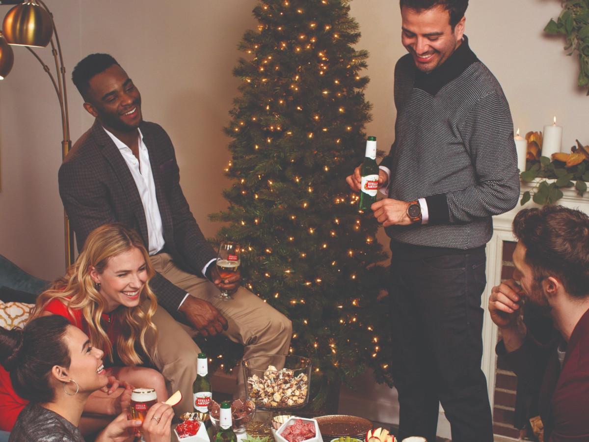 Stella Artois party scene