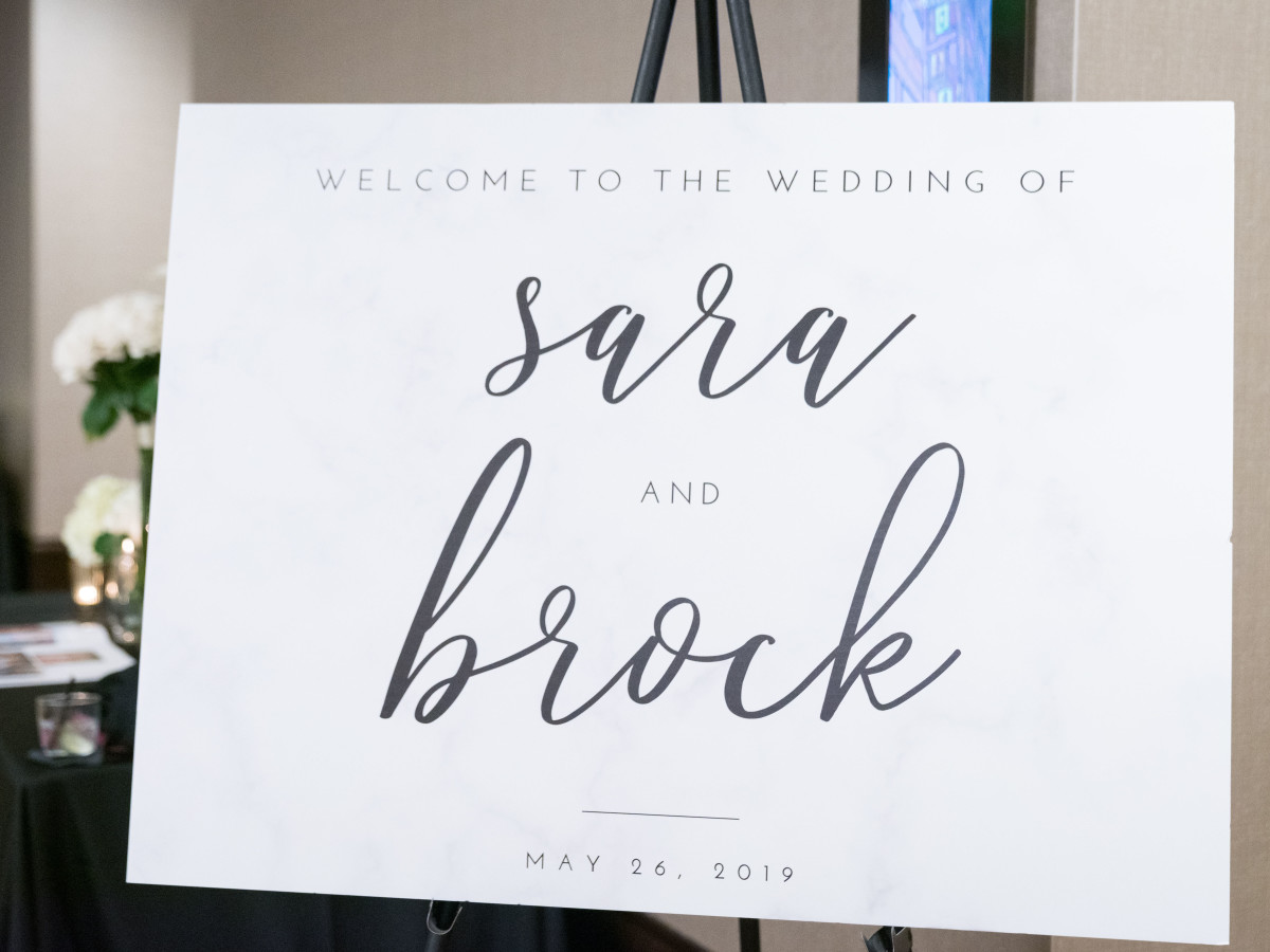 Sara and Brock Real Wedding
