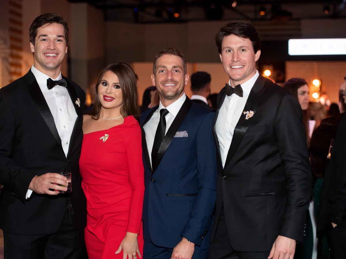 Jungle Book Gala 2019 Mason Barker, Meredith Flores, Kyle Bennett, and Robby Derrick