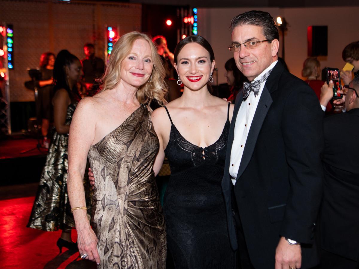 Jungle Book Gala 2019 Trish, Katherine, and Rock Morille