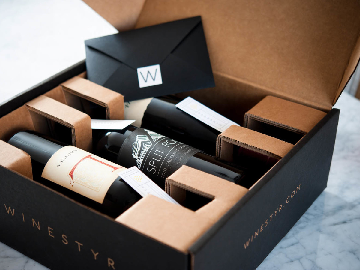 Winestyr gift packaging