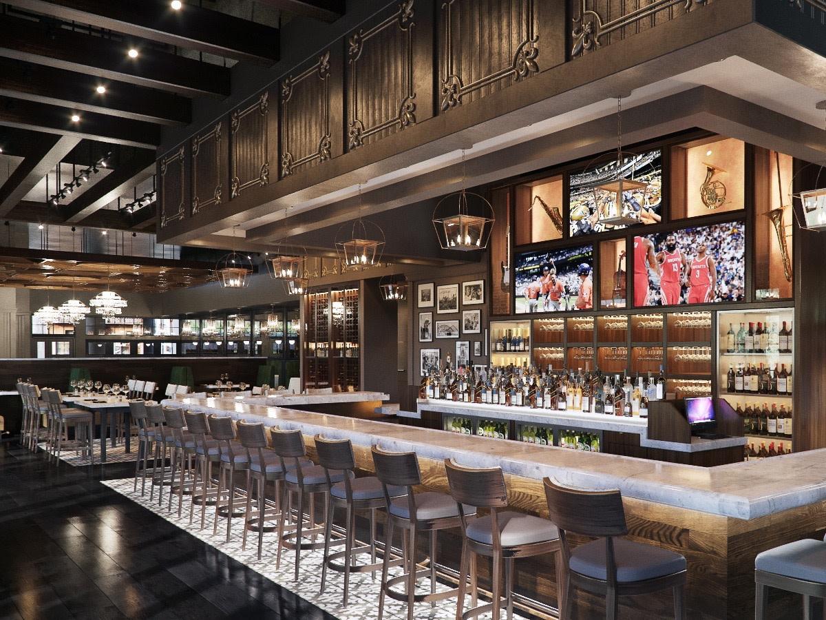 Rouxpour Memorial bar rendering