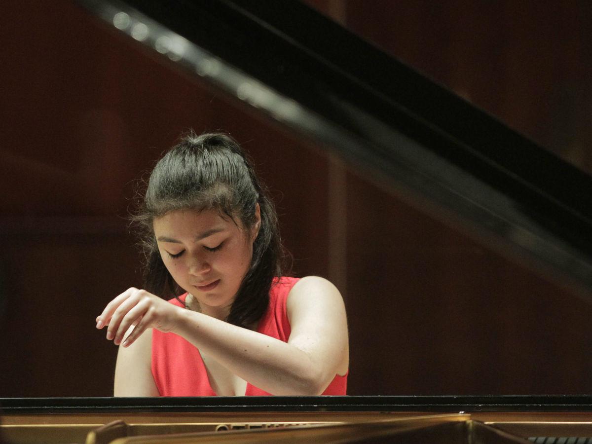 Avery Gagliano, Cliburn competition junior