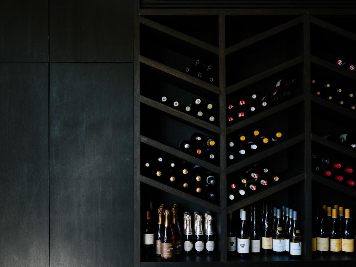 hestia dining room wine rack