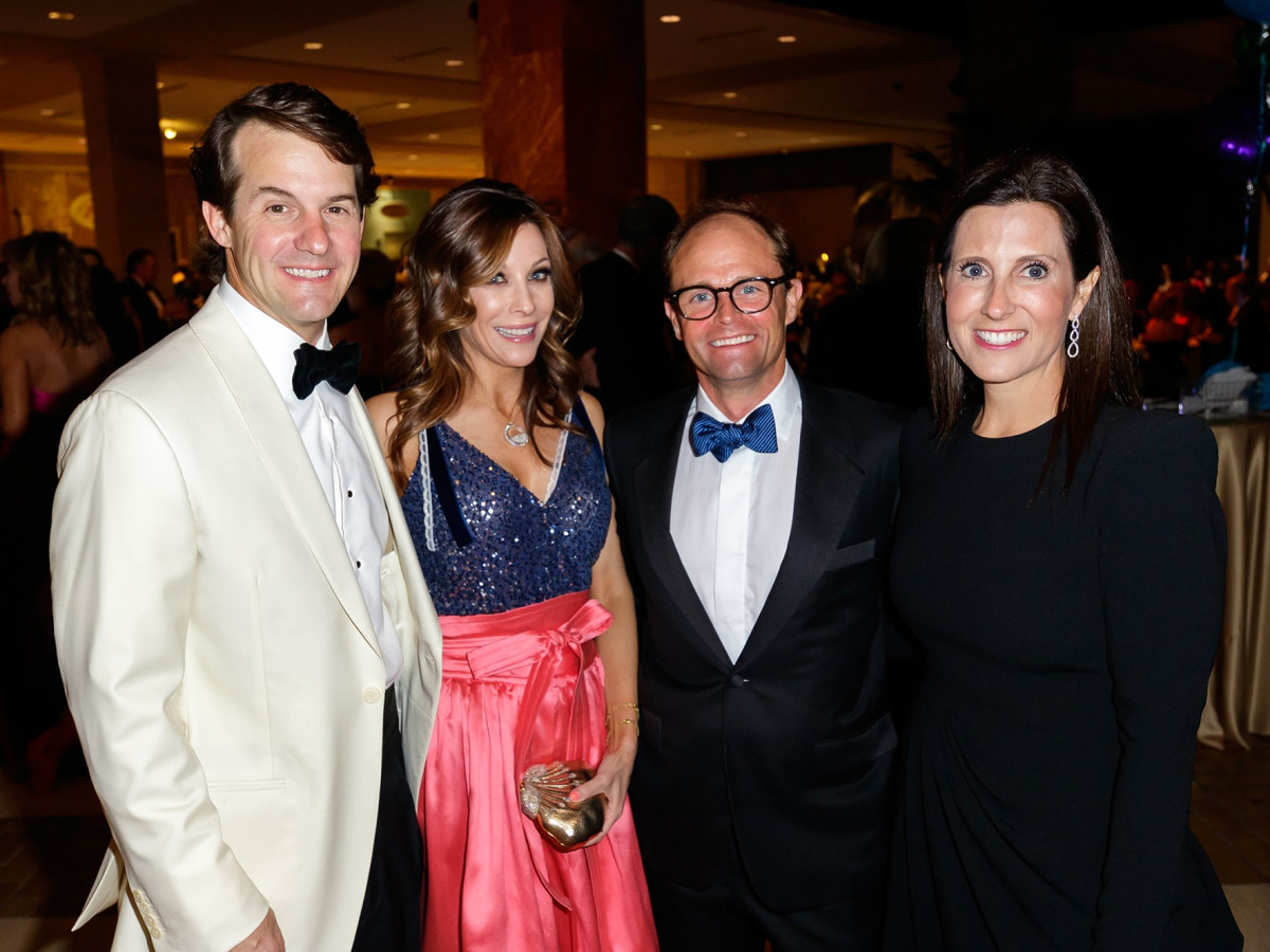 Alan Schoellkopf, Karen Schoellkopf, Conner Searcy, Gina Searcy