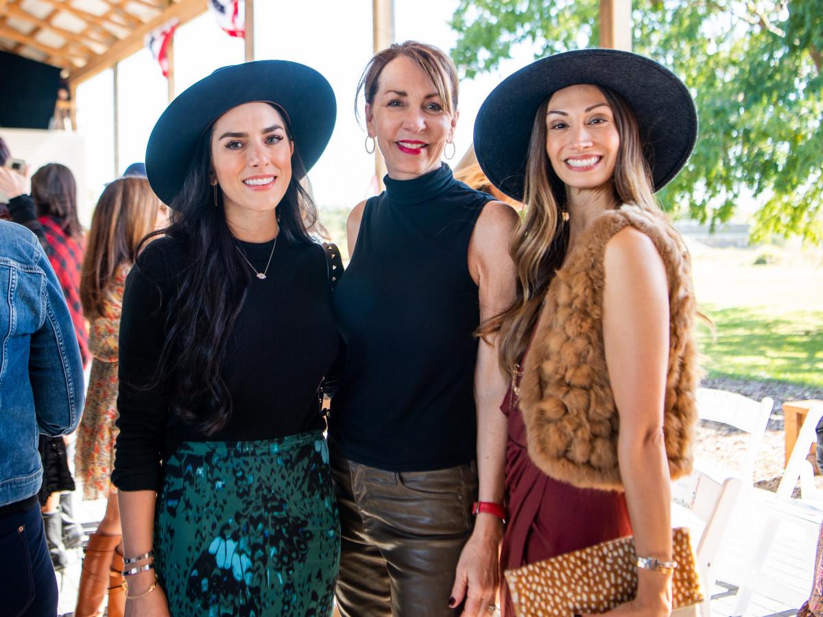 Fashion in the Fields 2019 Anna Van Delden, Susie Distefano, April Salazar