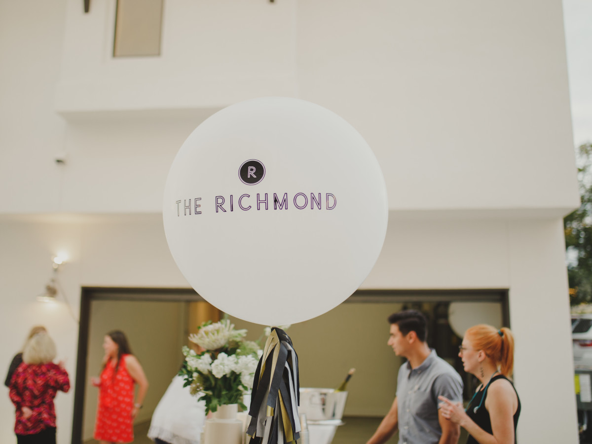 The Richmond launch event