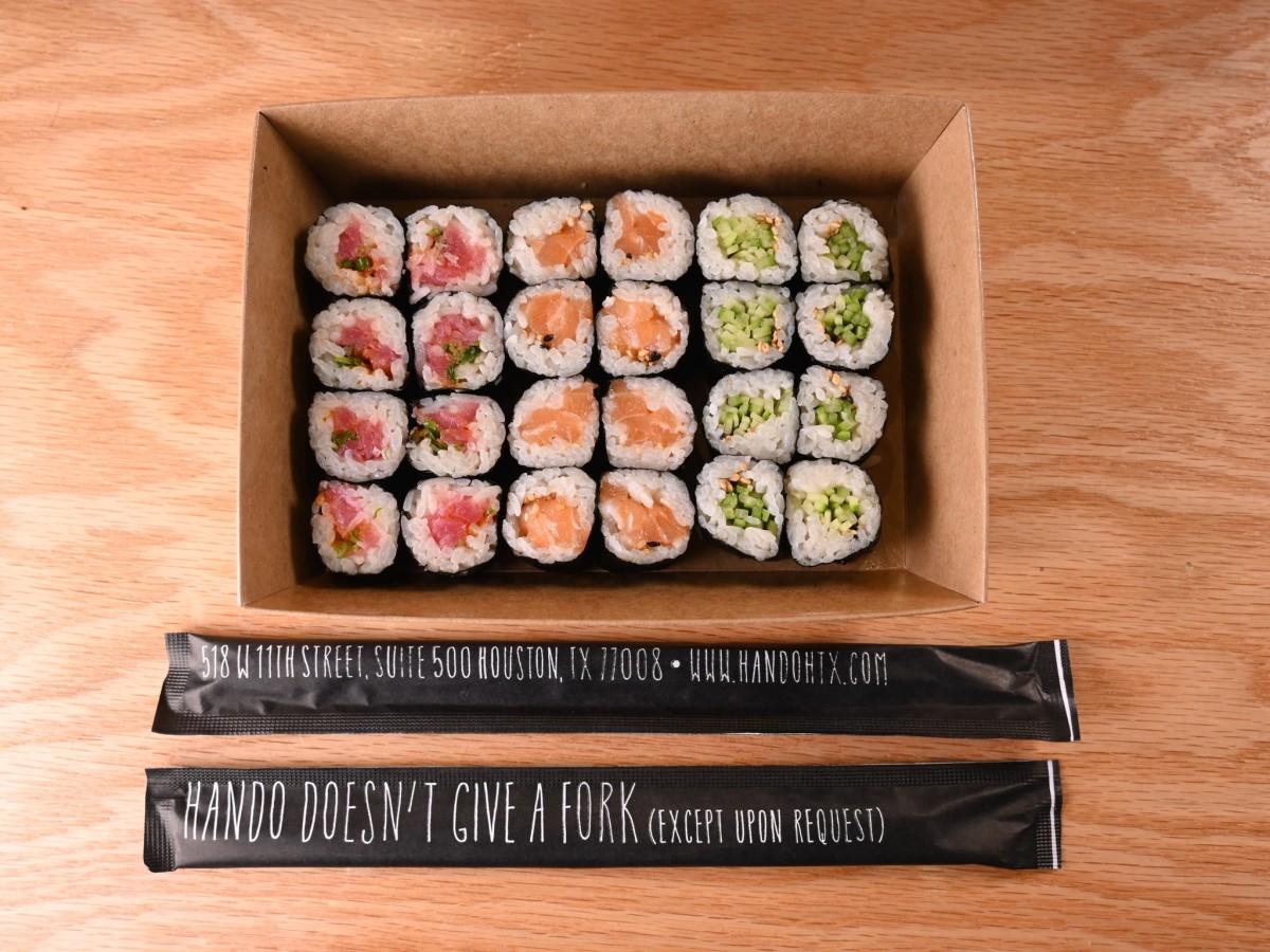 Hando takeout sushi maki