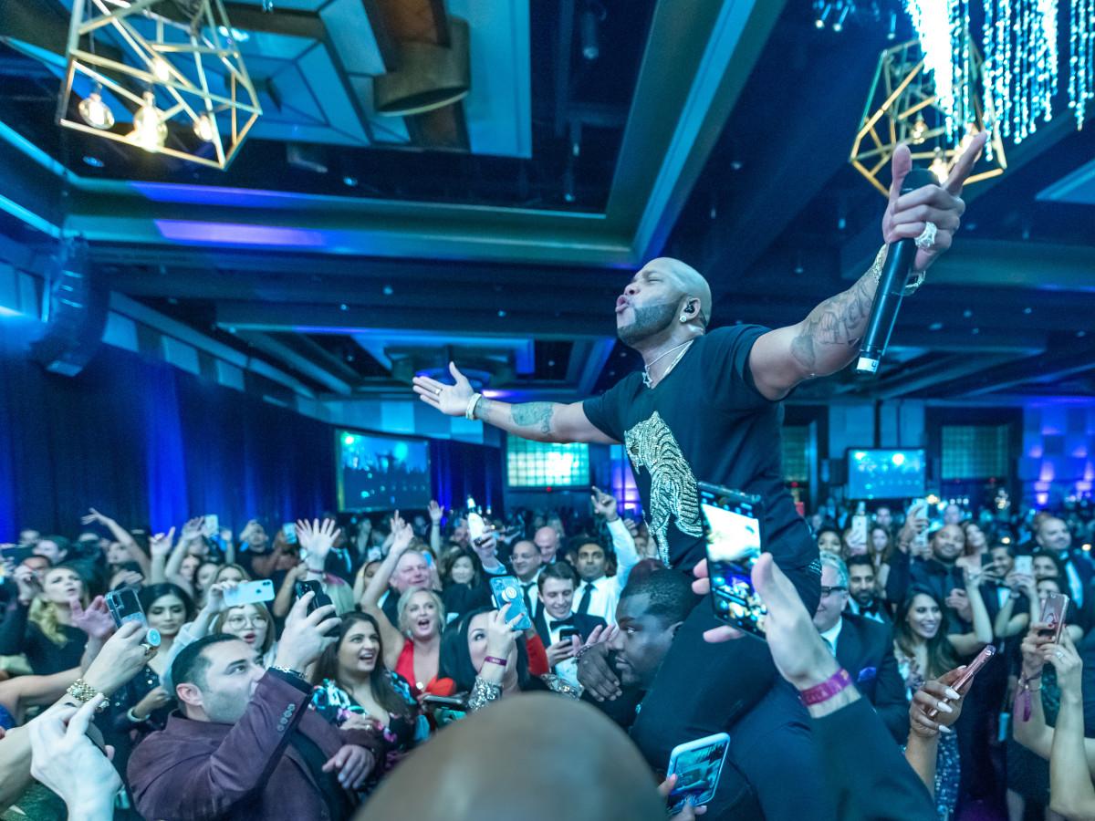 Altus Gala 2019 Flo Rida crowd