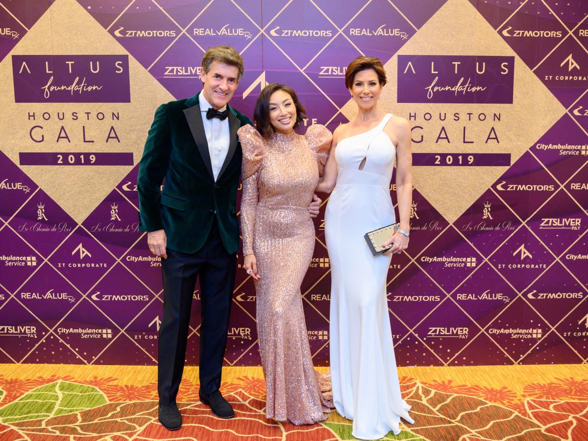 Altus Gala 2019 Nick Florescu, Jeannie Mai, Dominique Sachse