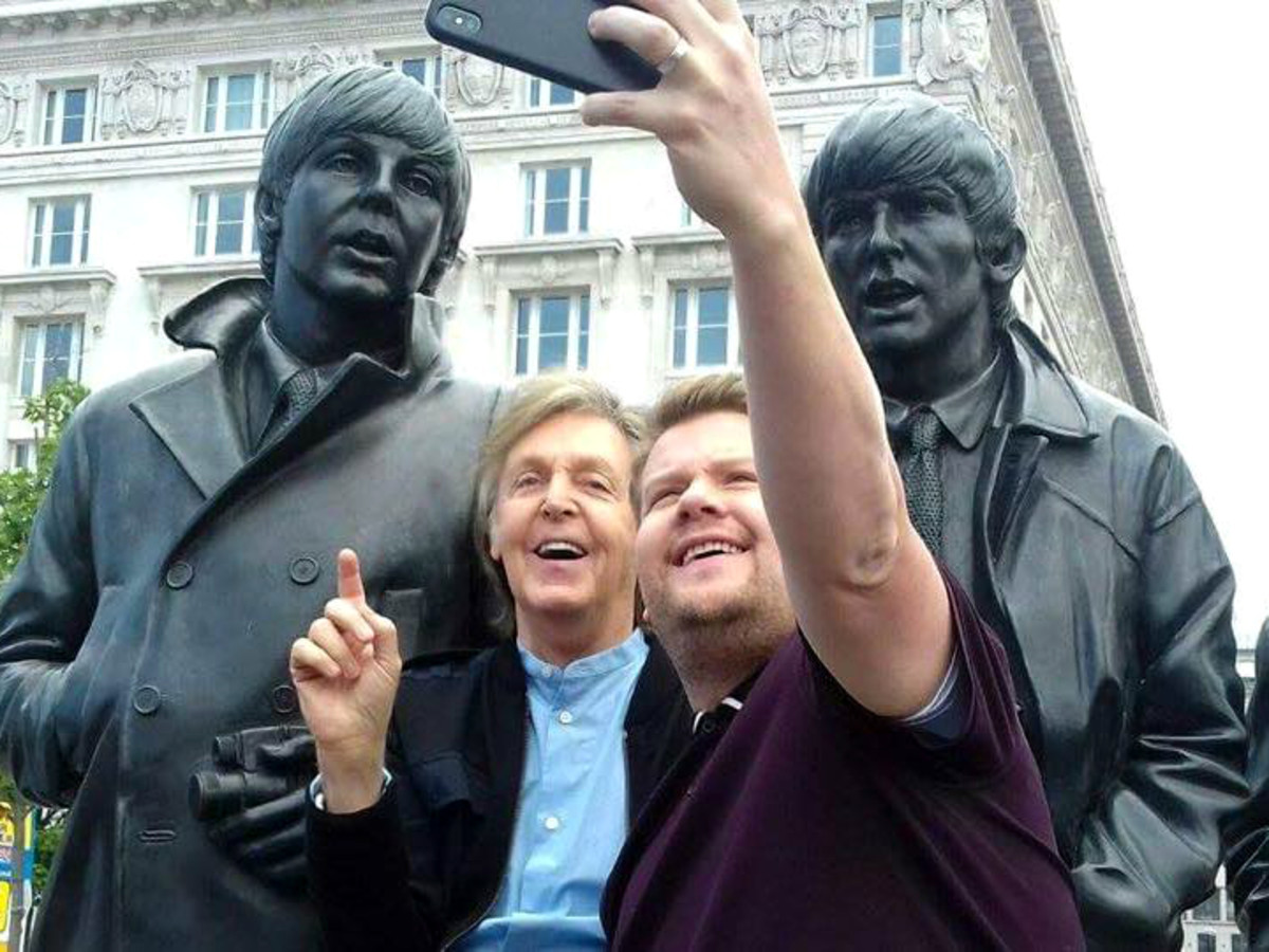 Paul McCartney James Corden Liverpool