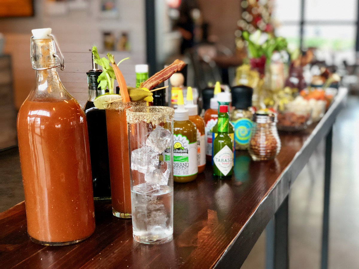 FM Kitchen bloody mary bar