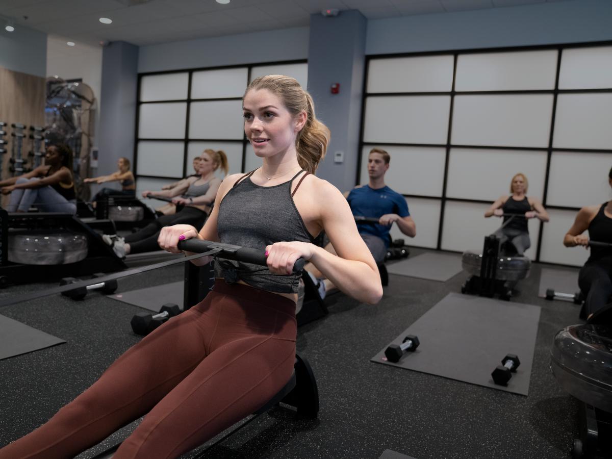 CityRow rowing fitness studio