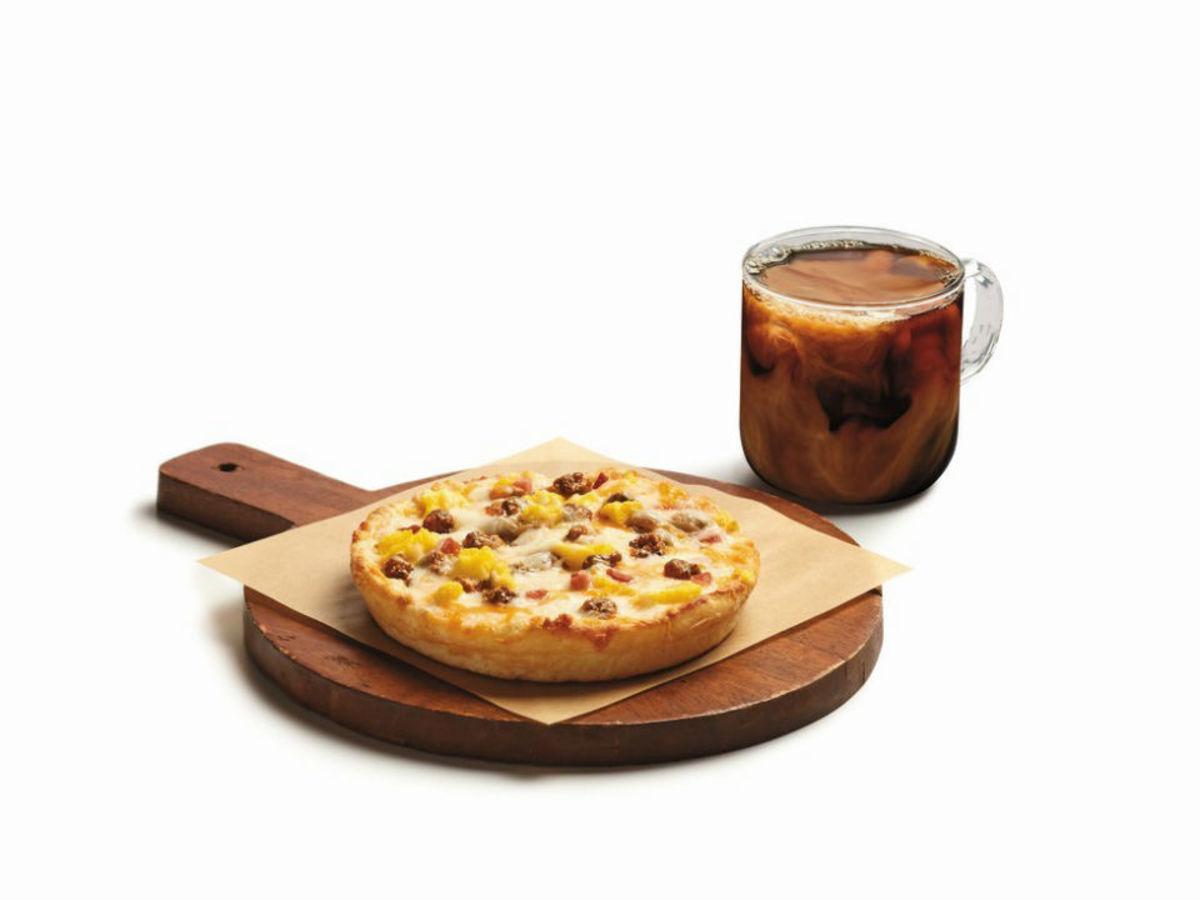7-11 breakfast pizza