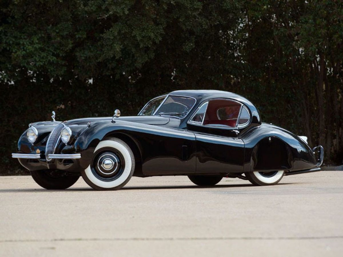 Sam Pack auto auction classic Jaguar