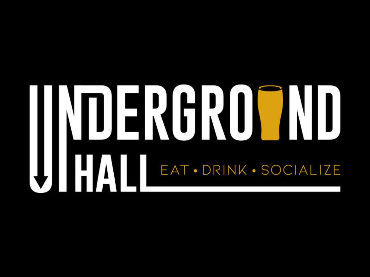 Underground Hall downtown food hall logo