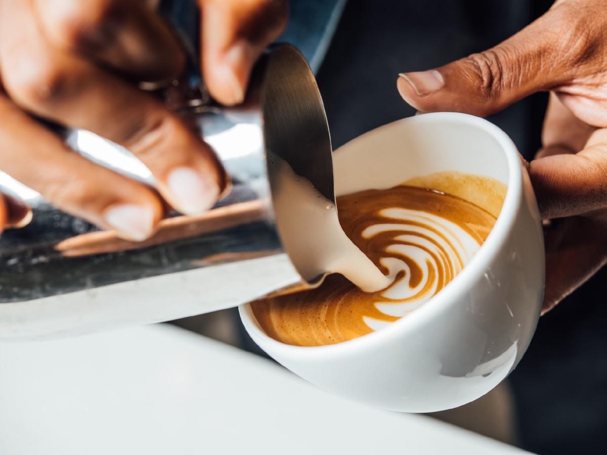 Cappuccino Susu Kopi Boba Politan Row