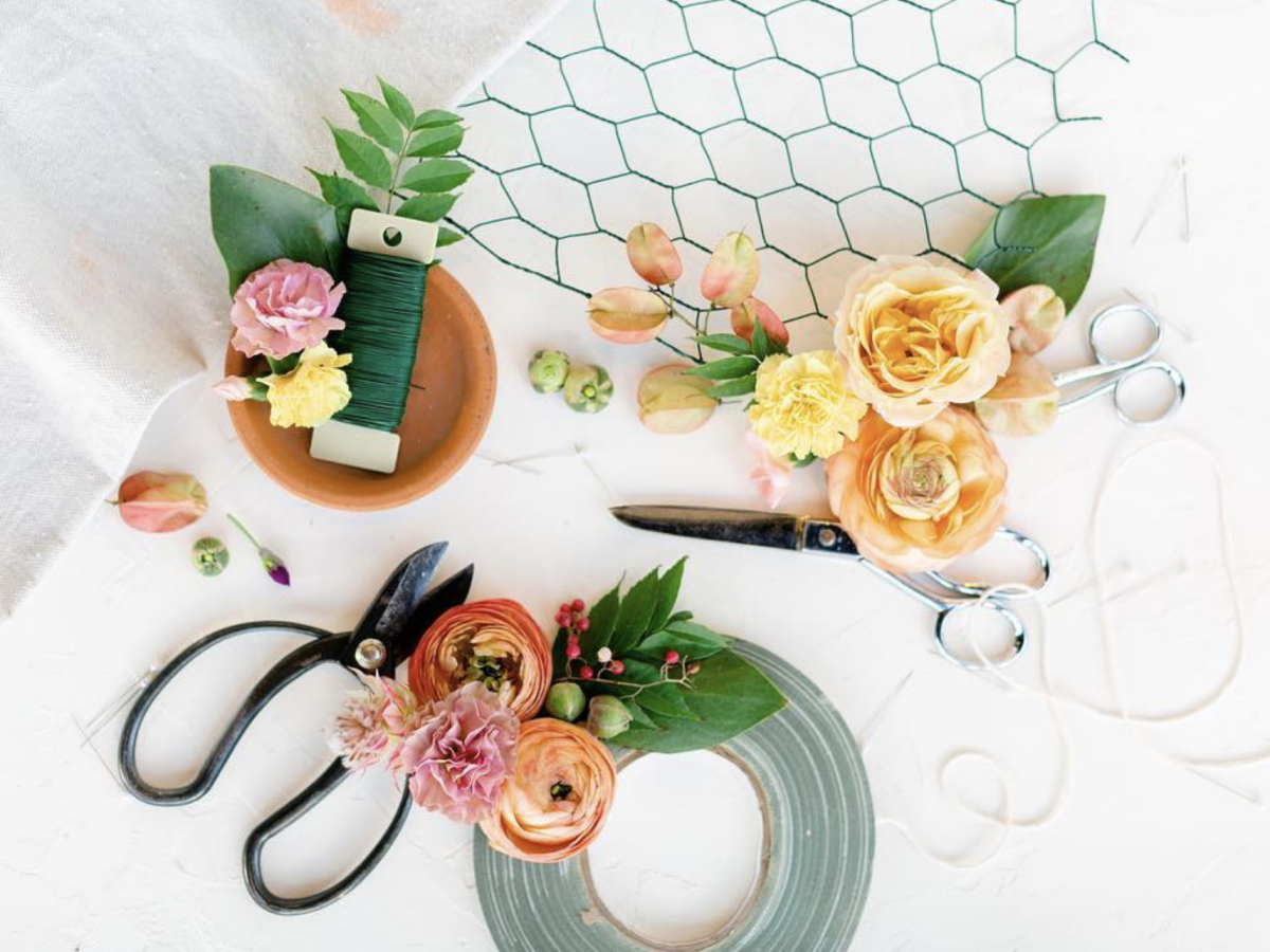 Lovelily Flowers bouquet craft