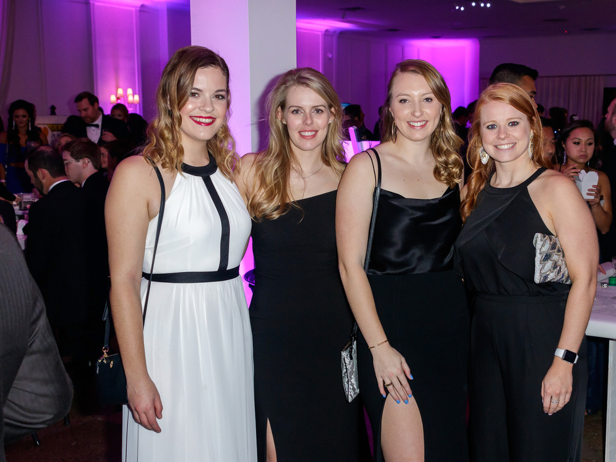 Brooke Donaldson, Lucy Chadderton, Jordan Gray, Madeline Whitacher