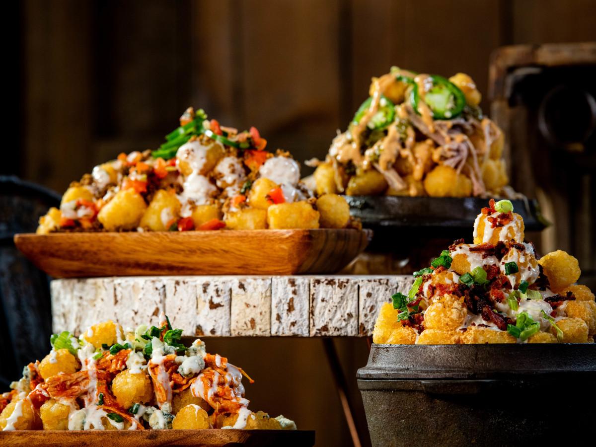 Houston Astros Minute Maid Park stadium food menu Tots El Mariachi chicken