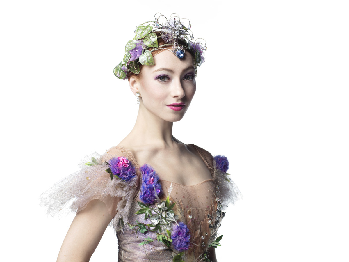 Houston Ballet soloist Alyssa Springer as The Lilac Fairy