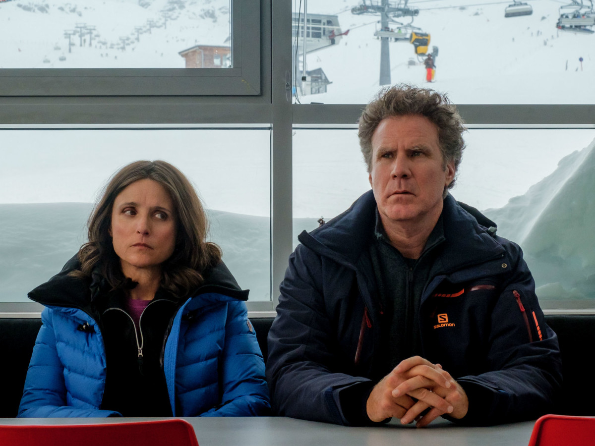 Julia Louis-Dreyfus and Will Ferrell in Downhill