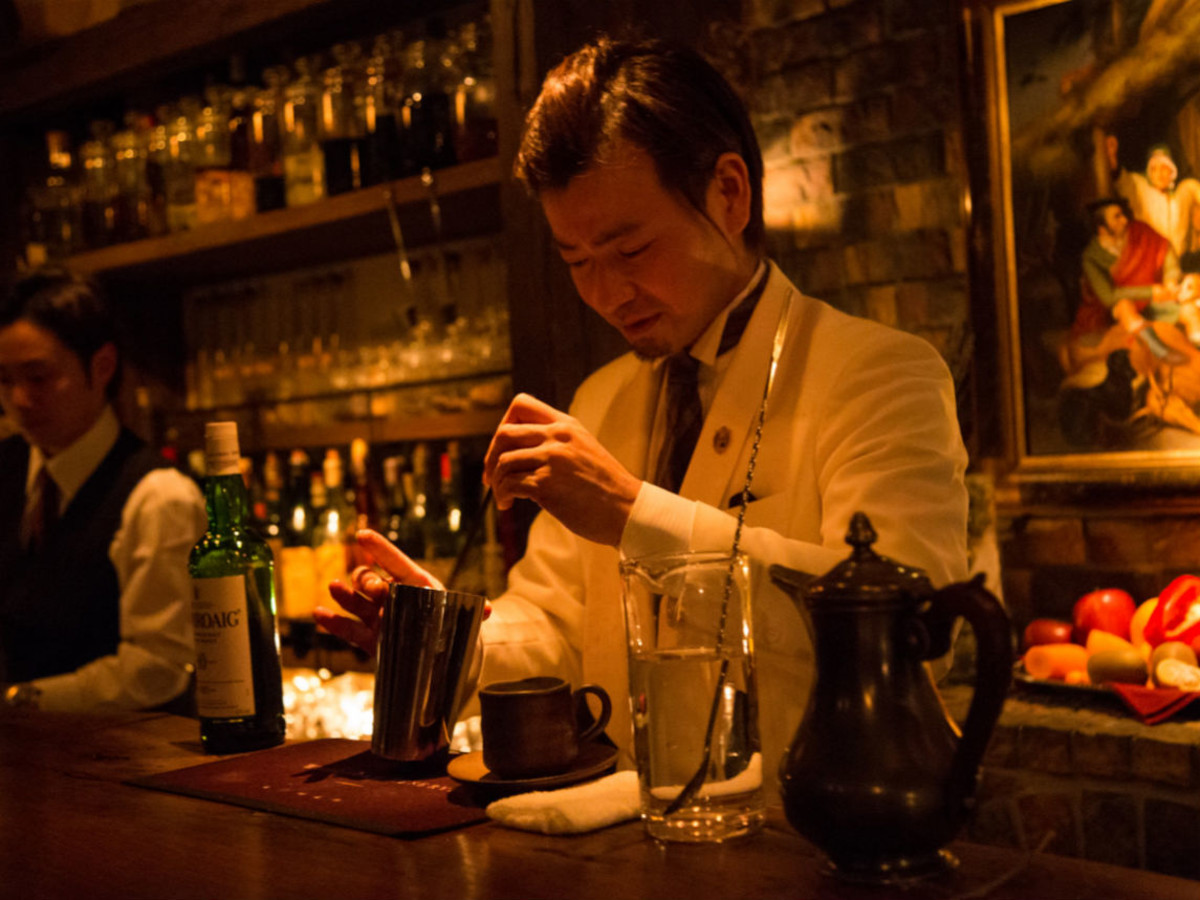 Hiroyasu Kayama Bar BenFiddich