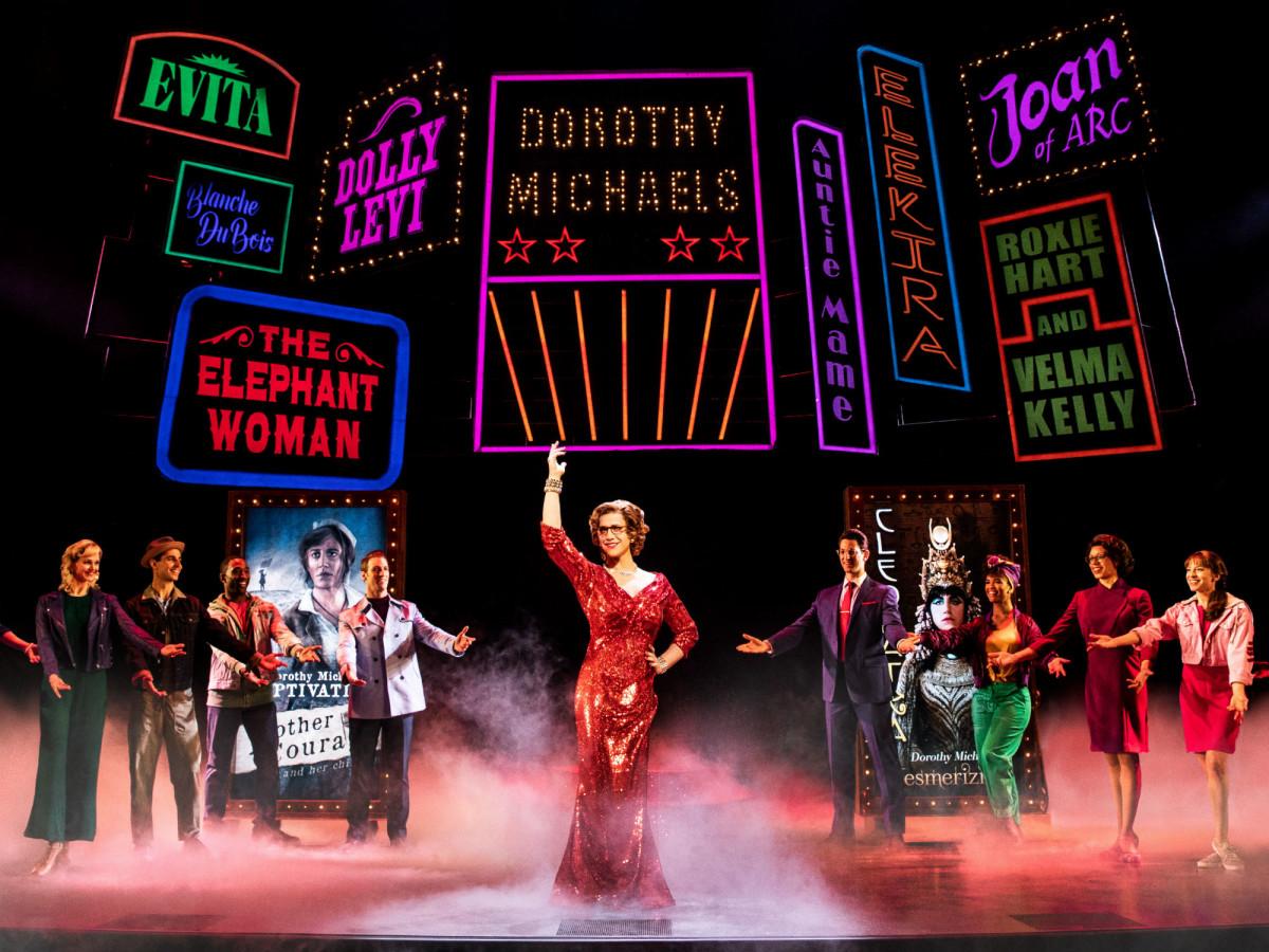 Original Broadway cast of Tootsie