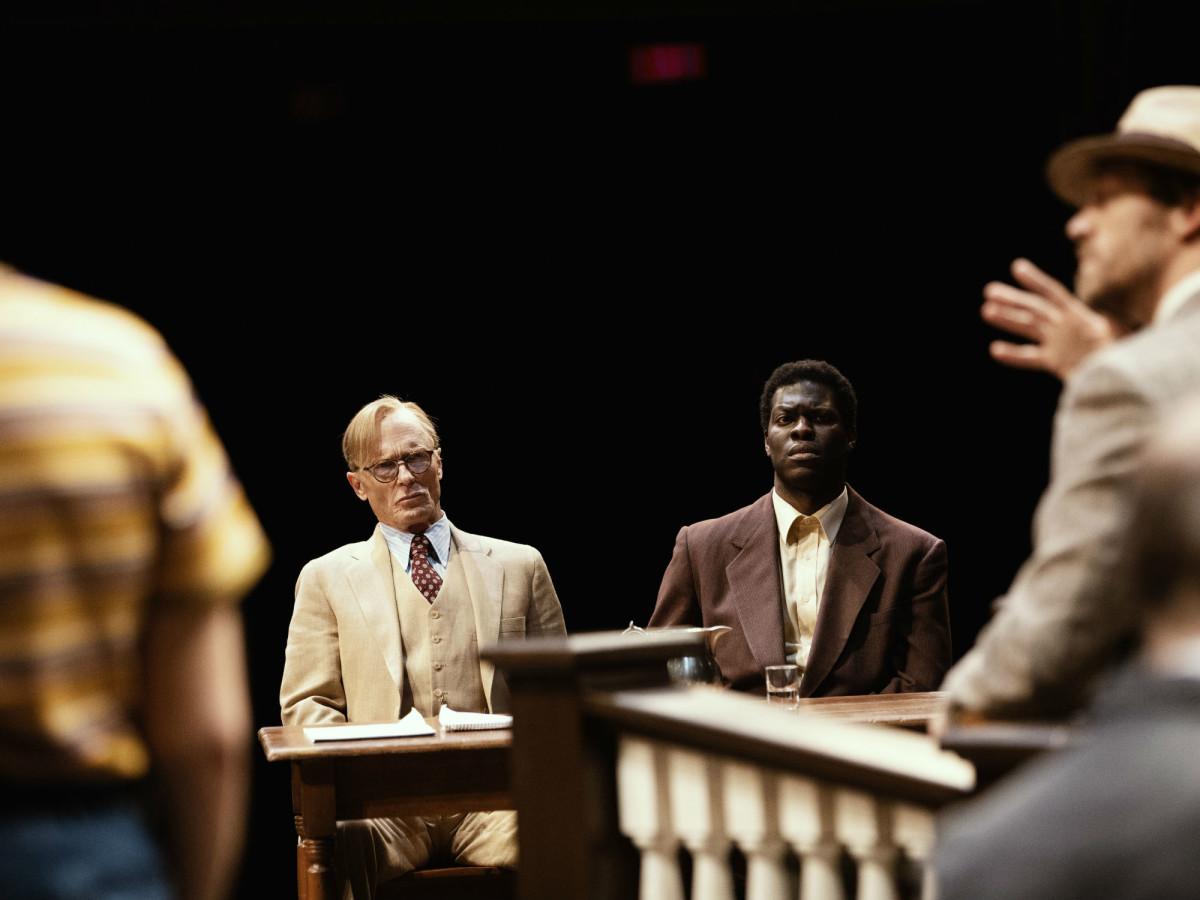 Broadway cast of To Kill a Mockingbird